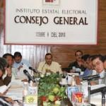 El Consejo General del IEE califica y declara legalmente validas 55 asambleas de elección comunitaria