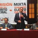 Gabino Cué y Marcelo Ebrard pactan intercambio comercial, turístico, económico y cultural entre Oaxaca y el DF